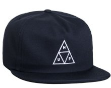 HUF Triple Triangle Snapback, Navy