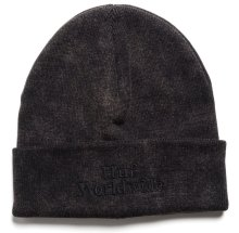 HUF Worldwide Overdyed Beanie, Black