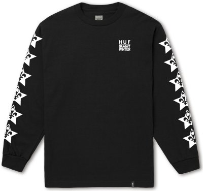 HUF X Cliché Sammy Winter LS Tee, Black