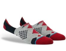 Stance Hilands Ankle Socks, Red