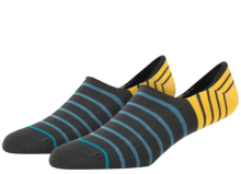 Stance Mongoose Ankle Socks, Charcoal
