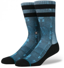 Stance Piranha Socks, Blue