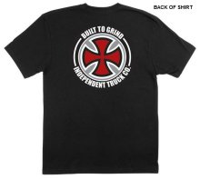 Independent BTG Cross Tee, Black