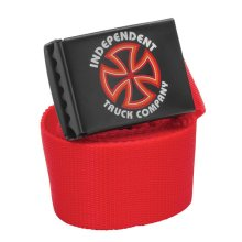 Independent Bauhaus Cross Belt, Red