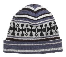 Independent Flake Beanie, Grey Black