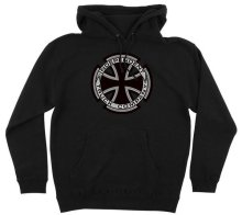 Independent Metallic Cross Hoodie, Black