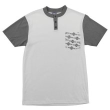 Independent OG Pattern Henley, White
