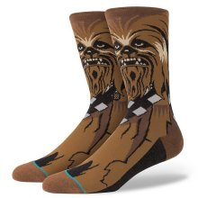 Stance x Star Wars Chewie Socks, Brown