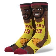 Stance Lebron James Socks, Yellow