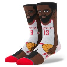 Stance James Harden Socks, White