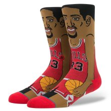 Stance Scottie Pippen Socks, Red