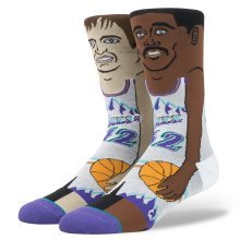Stance Stockton Malone Socks, Purple