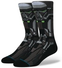 Stance x Star Wars Death Trooper Socks, Black