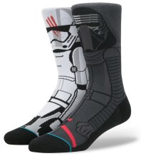 Stance x Star Wars Disturbance Socks, Grey
