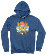 LRG Always High Hoodie, Gibson Blue
