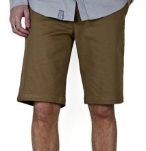 LRG CC TS Chino Shorts, Dark Khaki