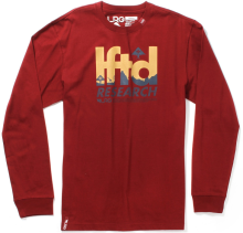 LRG Expedition LS Tee, Maroon