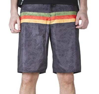 LRG Forty Seven Boardshort, Black
