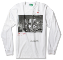 LRG High City Life LS Tee, White