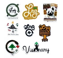 LRG Assorted Sticker Pack