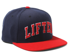 LRG Lifted Snapback Hat, Navy