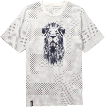 LRG Lion Hustle Knit Tee, Off White