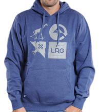 LRG Mashup Hoodie, Navy Heather
