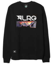 LRG Motherland Nightscape Crew, Black