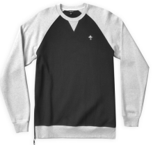 LRG Pure Scumbaggery Sweatshirt, Ash Heather