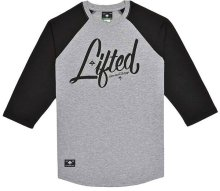 LRG RC 3/4 Sleeve Raglan, Black