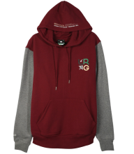 LRG RC Pullover Hoodie, Wino