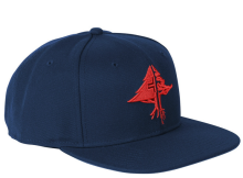 LRG RC Snapback, Patriot Blue Red