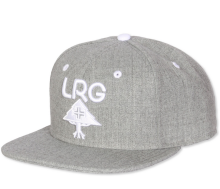 LRG Research Group Snapback, Ash Heather
