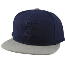 LRG Research Group Snapback Hat, Navy