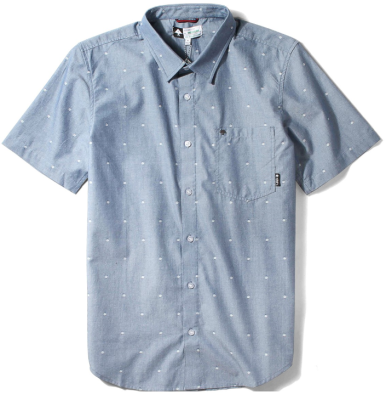 LRG Scattered SS Woven, Navy