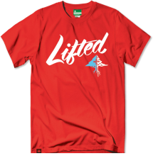 LRG Solid Script Tee, Red