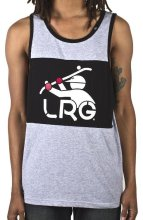 LRG South Sider Tank, Ash Heather