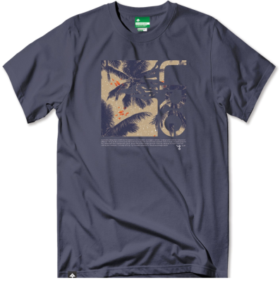LRG Stay Palm Fill Tee, Navy