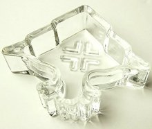 LRG Tree Ashtray, Clear