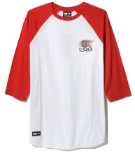 LRG X Star Wars AT-AT 3/4 Raglan, White Red