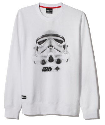 LRG X Star Wars Face Of War Crew, White