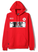 LRG X Star Wars The Empire Hoodie, Red