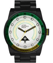 LRG Yacht Watch, Black White Green