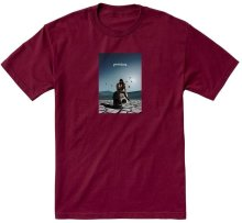 Primitive Badlands Tee, Burgundy