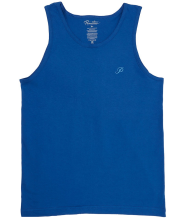 Primitive Classic P Embroidered Tank, Royal Blue