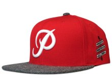 Primitive Classic P Snapback, Red