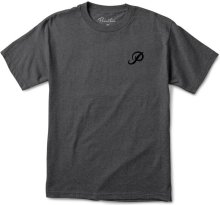 Primitive Classic P Tee, Charcoal Heather