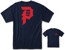 Primitive Dirty Red P Tee, Navy