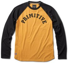 Primitive Ivy League Raglan, Gold Heather