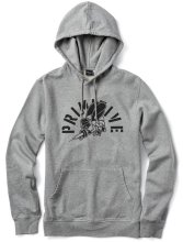 Primitive Killer Bees Hoodie, Heather Grey